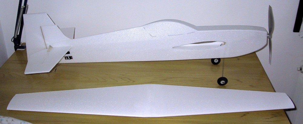 disegno aereomodello depron